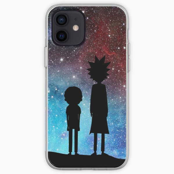 Rick and Morty - space iPhone Soft Case
