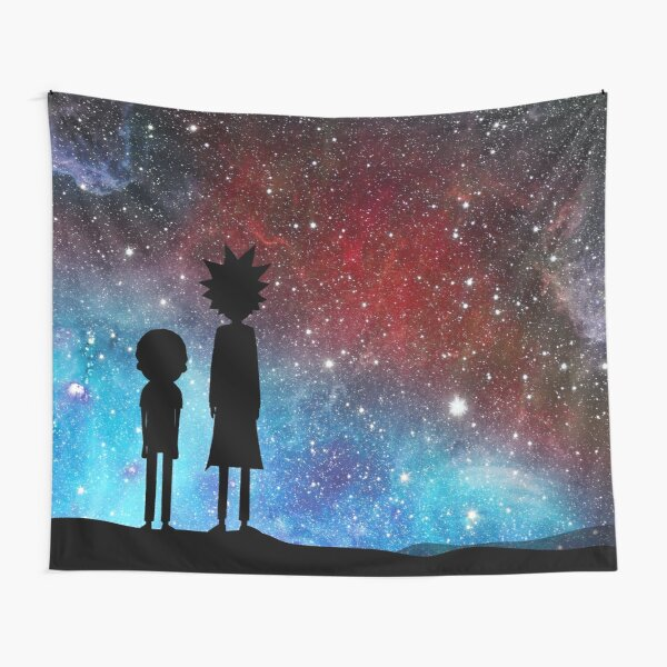 Rick and Morty - space Tapestry