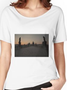 Charles Bridge Prague Women's Relaxed Fit T-Shirt
