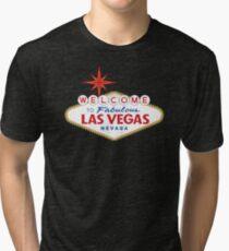 Willkommen in fabelhaften Las Vegas Zeichen Vintage T-Shirt