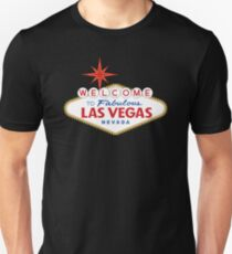Welcome to Fabulous Las Vegas Sign Unisex T-Shirt
