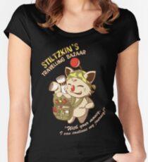 Stiltzkin's Travelling Bazaar Women's Fitted Scoop T-Shirt