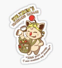 Stiltzkin's Travelling Bazaar Sticker