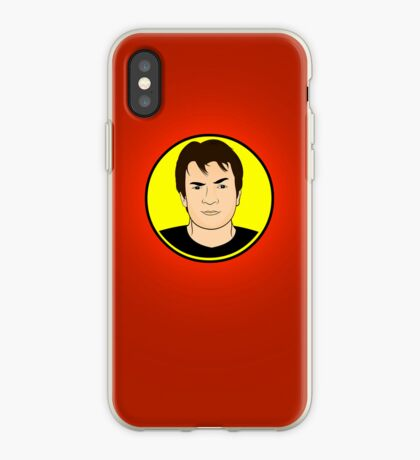 Captain Hammer (Red) iPhone Case  iPhone Case
