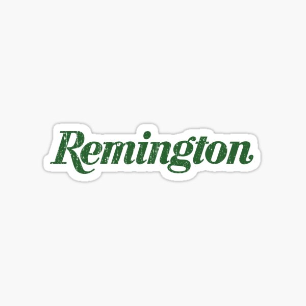 Remington Firearms Sticker