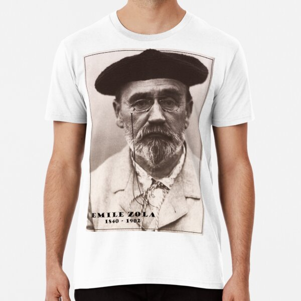 Emile Zola T-shirt premium