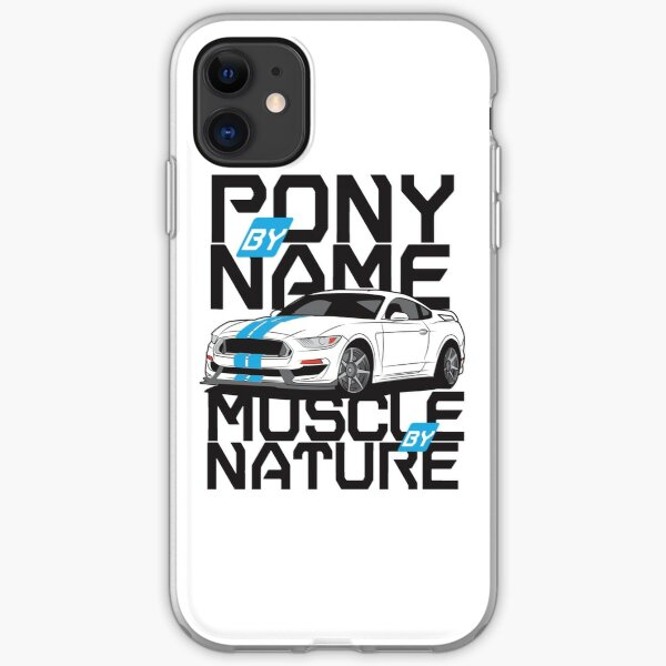 Ford Mustang GT350R iPhone Soft Case