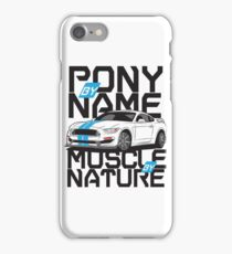 Ford Mustang GT350R iPhone Case/Skin
