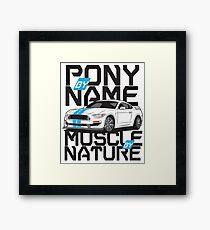Ford Mustang GT350R Framed Print