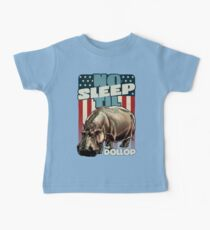 The Dollop - No Sleep Til Hippo (Clothing and Stickers) Baby Tee
