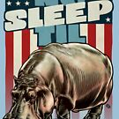 The Dollop - No Sleep Til Hippo (Clothing and Stickers) by James Fosdike