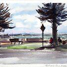 Postcard from Altona Beach by Karin Zeller