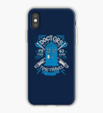 Doctors time travel club iPhone Case