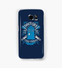Doctors time travel club Samsung Galaxy Case/Skin