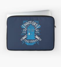 Doctors time travel club Laptop Sleeve