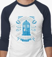 Doctors time travel club Men's Baseball ¾ T-Shirt
