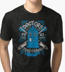 Doctors time travel club Tri-blend T-Shirt