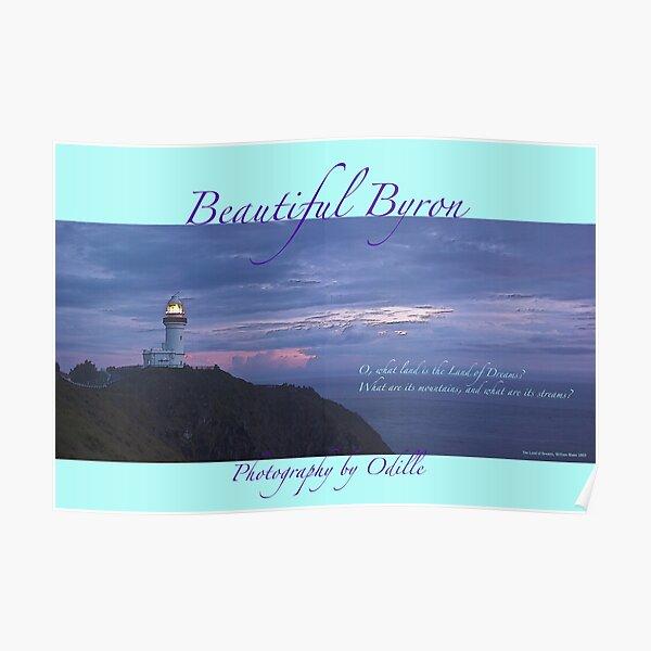 Cape Byron calendar cover art Poster