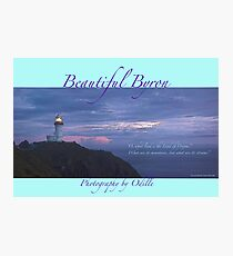 Cape Byron calendar cover art Photographic Print