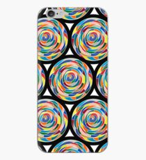Swirling Abyss Pattern iPhone Case