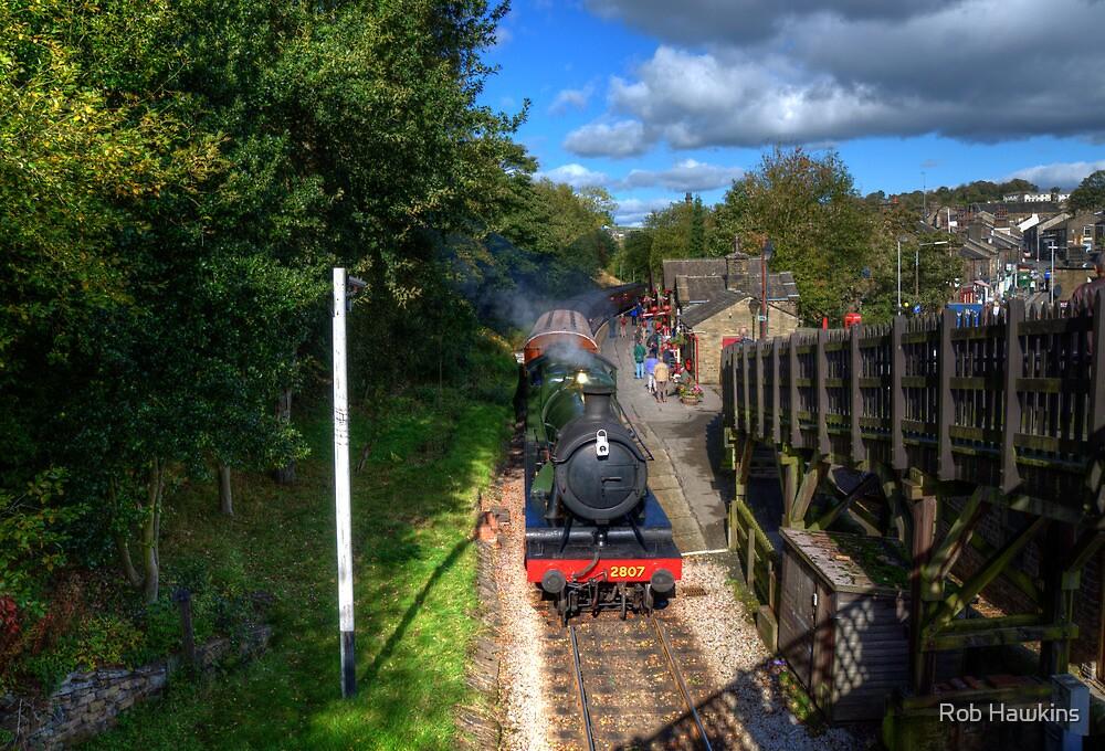 Haworth Station  by Rob Hawkins