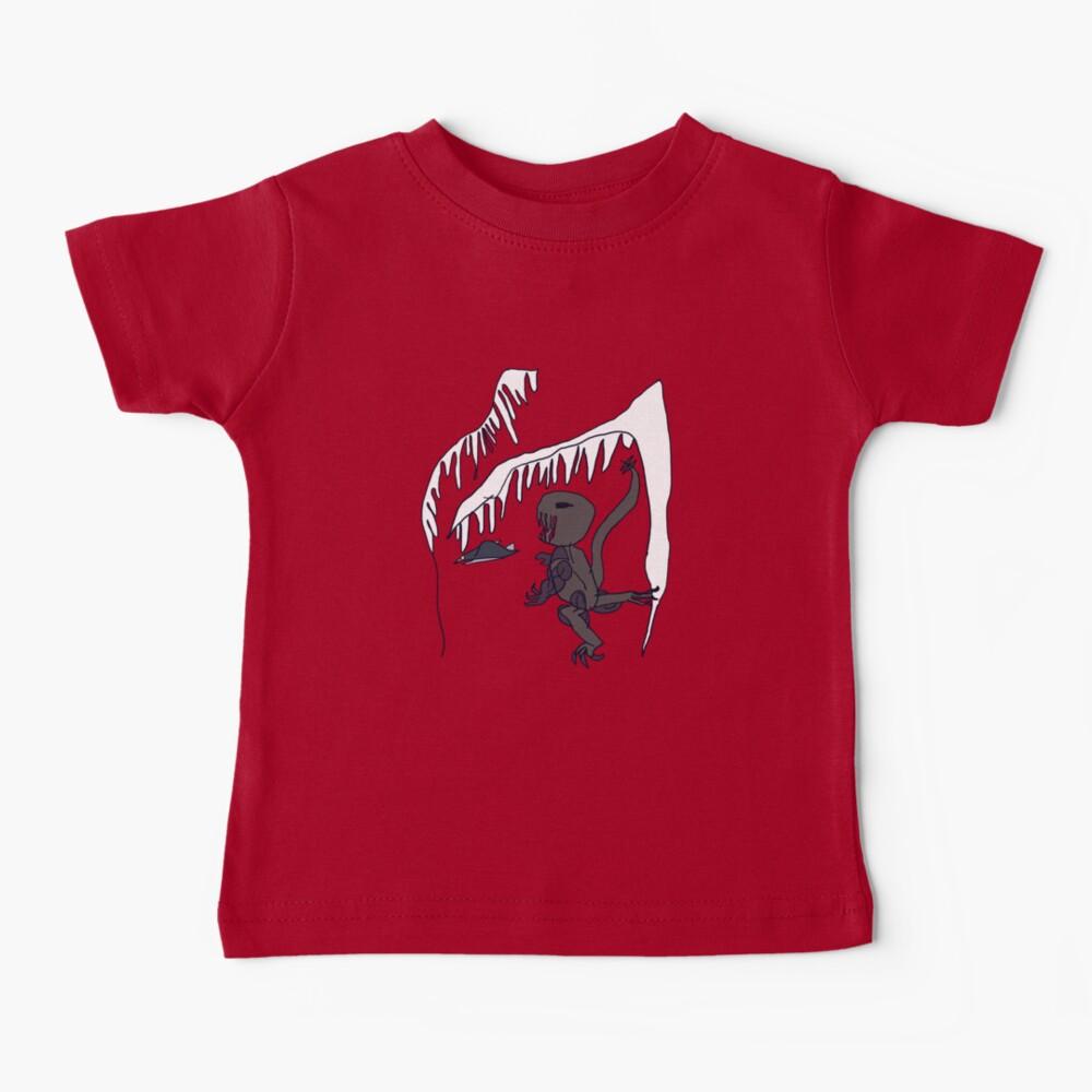 Ice-cave Dinosaur Baby T-Shirt