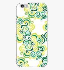 Swirly Emblem Pattern iPhone Case