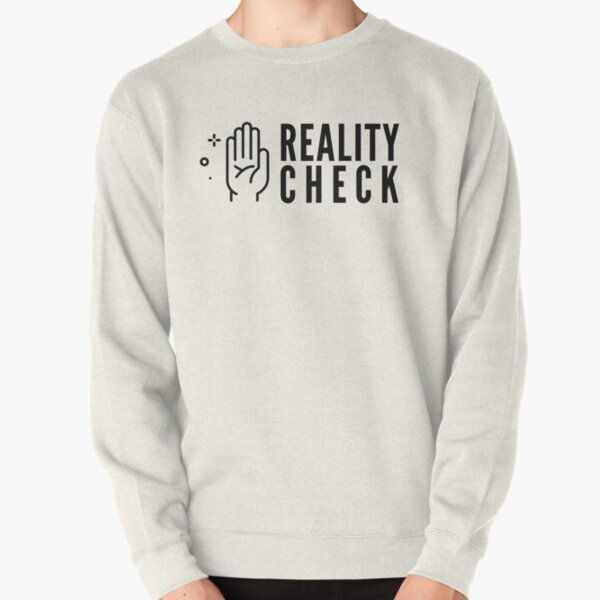 Lucid Dream Reality Check Pullover Sweatshirt