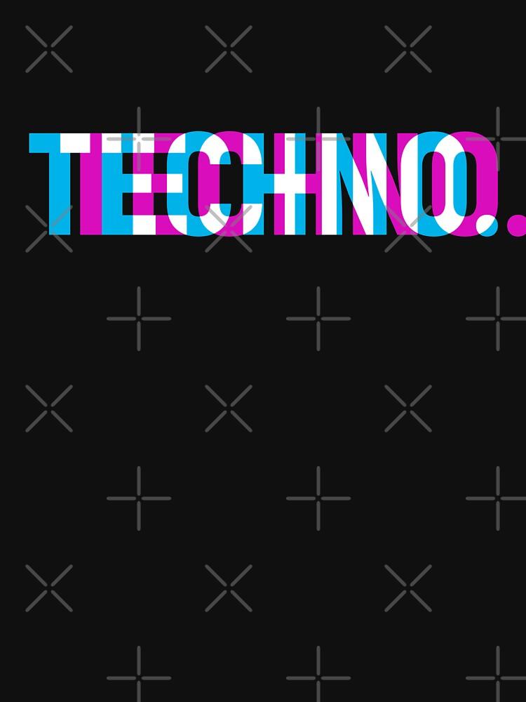 Techno by shinobishirt