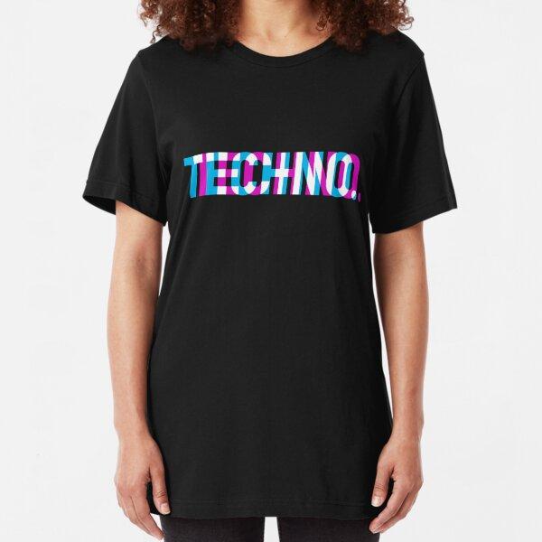 Techno Slim Fit T-Shirt