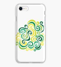 Swirly Emblem iPhone Case/Skin