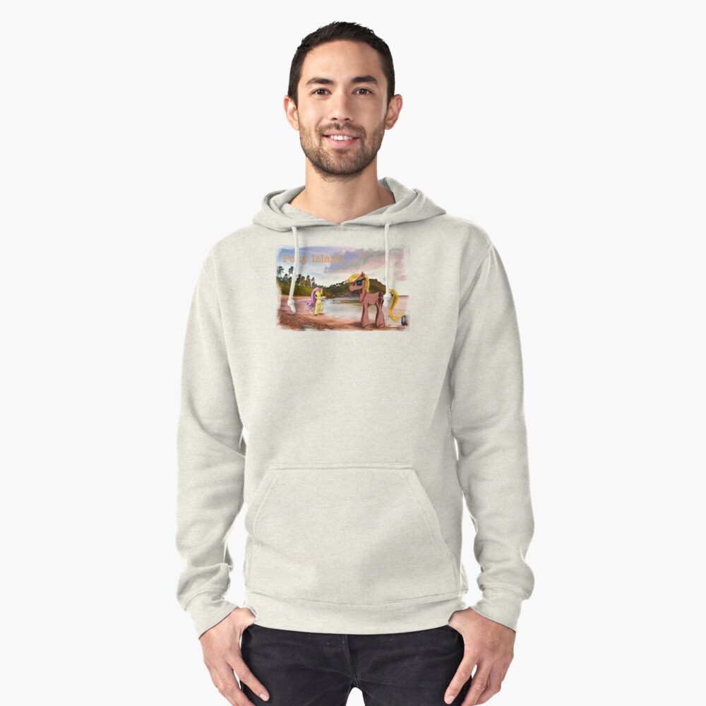 Pony Island Pullover Hoodie Front