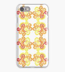 Swirly Fire iPhone Case/Skin