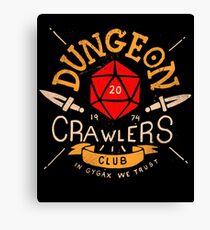 Dungeon Crawlers Club Canvas Print