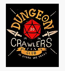 Dungeon Crawlers Club Photographic Print
