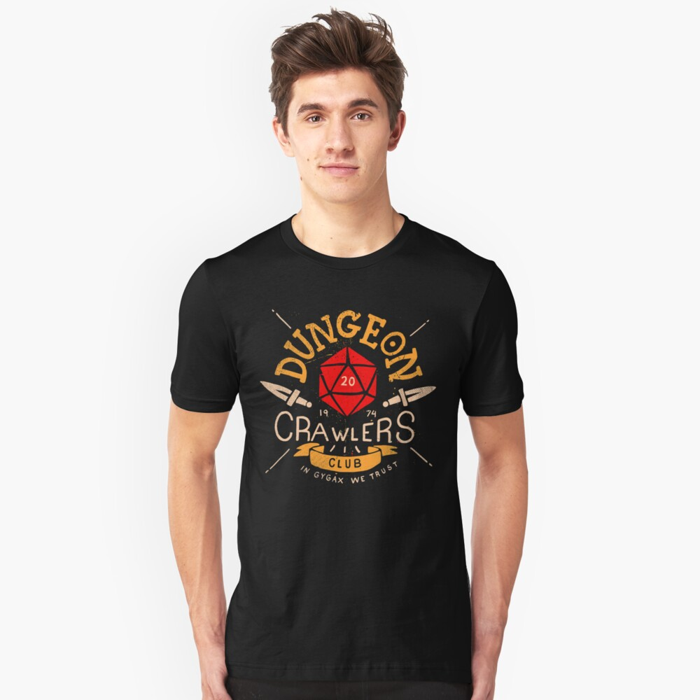 Dungeon Crawlers Club Unisex T-Shirt Front
