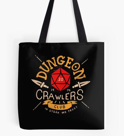 Dungeon Crawlers Club Tote Bag