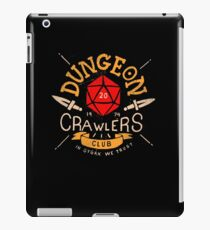 Dungeon Crawlers Club iPad Case/Skin