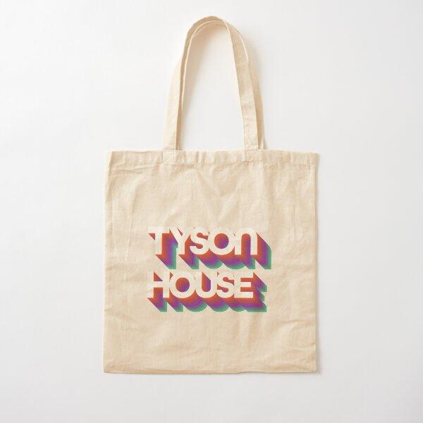 Groovy Tyson House Logo Cotton Tote Bag