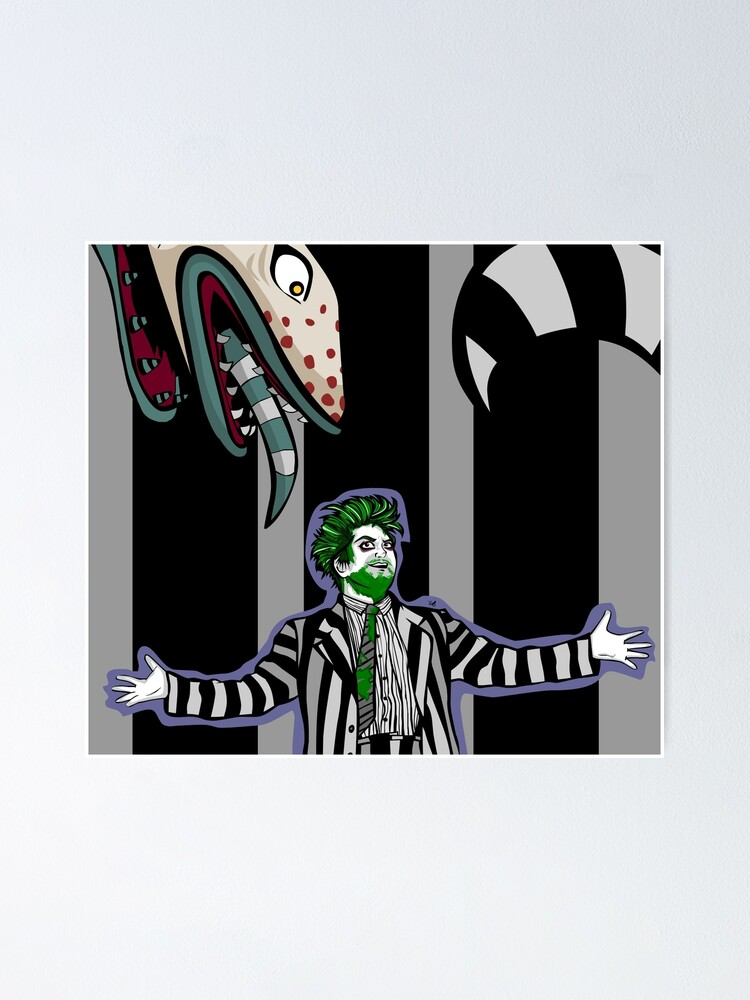Beetlejuice Musical Showtime Poster By Lozibbles Redbubble