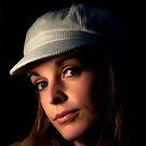 Ellie in her hat by Matt Sillence