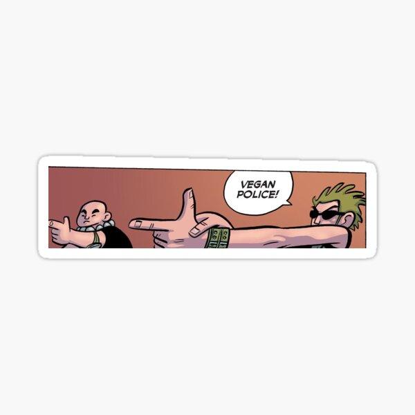 Vegan Police Sticker