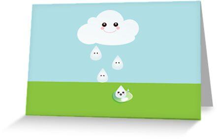 Kawaii Cloud by sweettoothliz