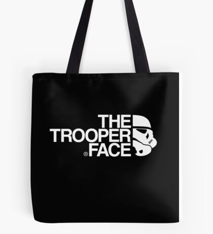 The trooper face Tote Bag