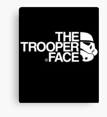 The trooper face Canvas Print