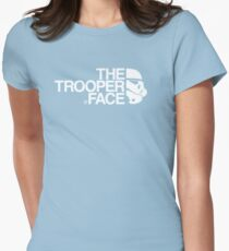 The trooper face Women's Fitted T-Shirt