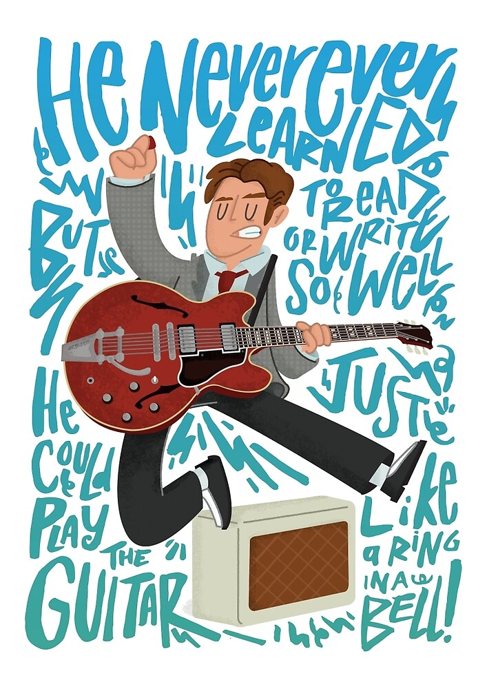 Guitar Heroes - Marty McFly  by jimmyrogers
