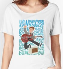 Guitar Heroes - Marty McFly  Women's Relaxed Fit T-Shirt