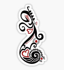 Musical Motif Sticker