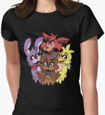 Five Nights at Freddys! Women's Fitted T-Shirt